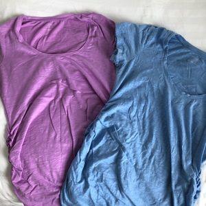 2 Motherhood Maternity TShirts (M)
